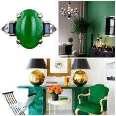 Cheers to Pantone's 2013 Color of the Year! #greenandgorgeous #emerald #pantone