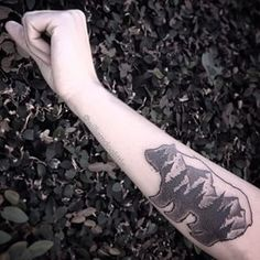 This forest within a bear.   Community Post: 21 Beautiful Tattoos Every Nature Lover Will Want