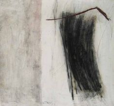Martine Trouis: Abstract IV (14x14 oil on paper)