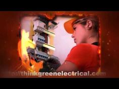 Oakville Electrical Contractor | ThinkGreenElectrical.com | (647) 470-7267 Baseball Cards, Marketing, Tv, Television Set, Television