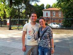 """Luca e Samanta:  """"Siamo una coppia da anni, ma Parma é la prima città nella quale ci siamo trasferiti insieme!"""""""