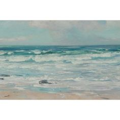 Tide on the Beach' Oil on Canvas Art | Overstock.com Shopping - Top Rated YGC Canvas