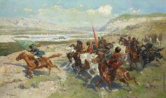 Cherkess, Circassian Cavalry   #Адыгэ #Адыги #Кавказ #Circassian #Abhaz #Circassia #Adyghe #Abkhazia #Abkhaz #Karachaycherkessia #Kabardinobalkaria #Caucasus #Northcaucasus #Nalchik #Maykop #Kavkaz #Kafkas # #Çerkez #Çerkesler #Çerkezler #Adigeler #Adige #Черкесы #Черкес  #Krasnodarkrai #Kabardey #Shapsug #Ubykh #Painting #Art