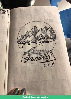 January monthy views http://aminoapps.com/p/yssmq7  #bulletjournal inspo
