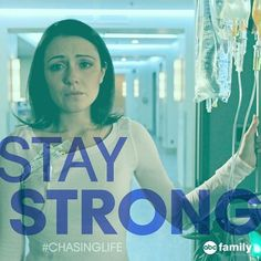 Stay strong April!! Watch more of her journey tomorrow night at 9/8c on ABC Family! | Chasing Life