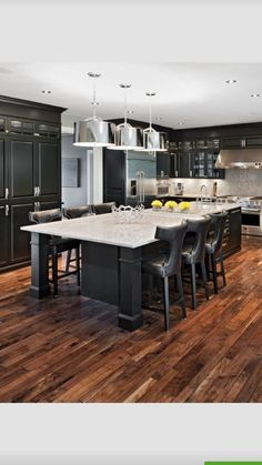 76 Inspiration for Remodeling Your Black Kitchens Take a look Inspiration For Remodeling Your Black Kitchens Idea Number 06 The kitchen is essential to the total house, but it doesn't mean that you can't DIY a project or two… Black Kitchen Cabinets, Black Kitchens, Kitchen Countertops, Home Kitchens, Marble Countertops, Kitchen Black, Kitchen Tiles, Home Decor Kitchen, Kitchen Furniture