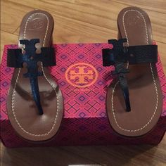 New In Box Tory Burch Moore Sandals Brand new, never worn. Tory Burch Shoes Sandals