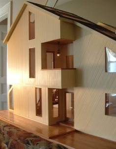 Contemporary style dollhouse