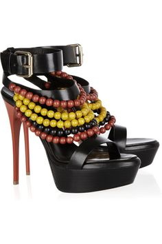 Burberry Prorsum #shoes #stillettos