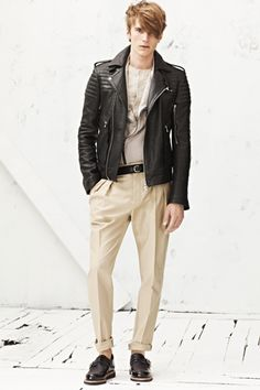 Balmain Spring 2013 Menswear Collection Slideshow on Style.com