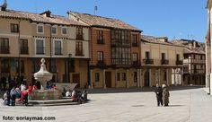 Plazas del entorno de la Catedral del Burgo de Osma (1)