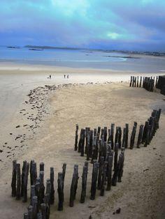 La plage vierge de Saint-Malo ! #sauvage #Bretagne #promenade                                                                                                                                                                                 Plus