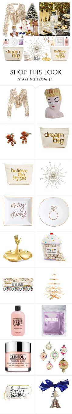 """SIKILMAYA değil, si.ilmeye"" by didesi ❤ liked on Polyvore featuring beauty, Dogeared, Sweet Water Decor, Jonathan Adler, Dylan's Candy Bar, Brownlow, Lapcos, Clinique and Hallmark"