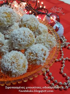 Greek Cookies, Like Chocolate, Greek Recipes, Christmas 2016, Easy Desserts, Truffles, Diy And Crafts, Flora, Food And Drink