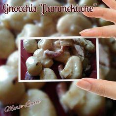 """Gnocchis """"Flammeküche"""" au Cookéo"""