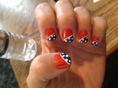 BOISE STATE!! Nails :)