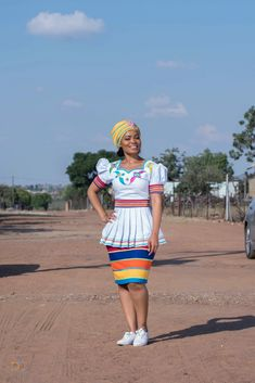 African Fashion Designers, Latest African Fashion Dresses, African Print Dresses, African Print Fashion, Africa Fashion, African Dress, African Prints, Pedi Traditional Attire, Sepedi Traditional Dresses