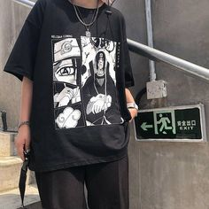 Grunge Outfits, Style Outfits, Tumblr Outfits, Edgy Outfits, Anime Outfits, Retro Outfits, Mode Outfits, Cute Casual Outfits, Aesthetic T Shirts