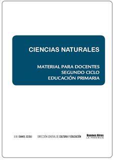 Educación Primaria: Material para docentes - Naturales