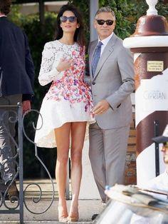 Robe d'Amal. mariage de George Clooney | Vanity Fair