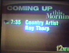 Ray Tharp Cincinnati News Performance