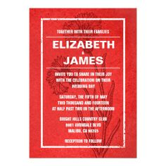 ==>>Big Save on          Rustic Vintage Red Wedding Invitations           Rustic Vintage Red Wedding Invitations We provide you all shopping site and all informations in our go to store link. You will see low prices onShopping          Rustic Vintage Red Wedding Invitations Online Secure Ch...Cleck Hot Deals >>> http://www.zazzle.com/rustic_vintage_red_wedding_invitations-161320486409719706?rf=238627982471231924&zbar=1&tc=terrest