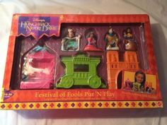 Disney The Hunchback Of Notre Dame Festival Of Fools Playset Figure Toys New 90s Kids, The Fool, Notre Dame, Nostalgia, Play, Retro, Toys, Children, Disney
