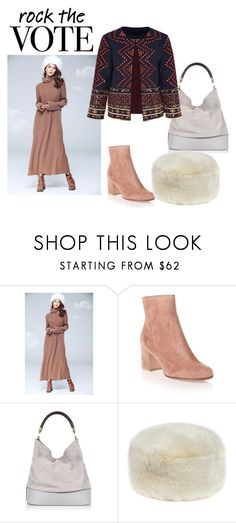 """Rock the vote in Style"" by shistyle ❤ liked on Polyvore featuring Gianvito Rossi, River Island, Hallhuber and rockthevote"