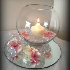 Image result for fishbowl centerpiece