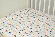 Ready Set Go 2 Piece Crib Sheet