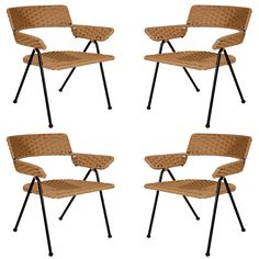 Set of Four Chairs by William Haines   1949
