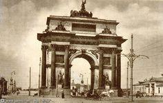 "zyalt: ""Мосразборстрой"" против Триумфальной арки."