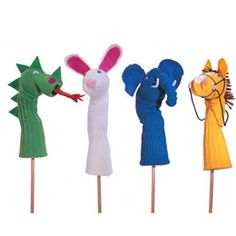 Sock Puppets - LOVE! kids today don't have enough COOL stuff like this.