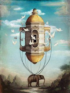 """""""Imaginary Traveler"""" by Christian Schloe"""