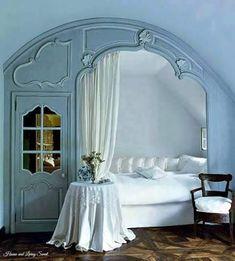 Hydrangea Hill Cottage: Moodboard Monday   Sky Blue · Schlafzimmer EckeSchlafzimmer  IdeenSchlafzimmerRomantische ...