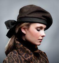 Hat by my favorite milliner Eric Javits
