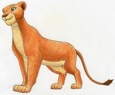 Learn how to draw Nala from Lion King. Easy step by step tutorial. Hard Drawings, Art Drawings Sketches Simple, Beautiful Drawings, Cool Drawings, Drawing Ideas, Nala Lion King, Baby Simba, Lion King Art, Disney Sketches