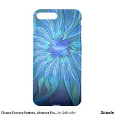 Flower Fantasy Pattern, abstract Fractal Art iPhone 7 Plus Case