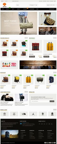 Jekyler 3 in 1 Multipurpose Responsive #Magento Themes #webdesign #eCommerce #template