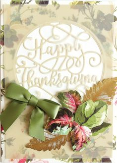 Card Making Kits, Anna Griffin Cards, Thanksgiving Cards, September 11, Fall Cards, Die Cutting, Card Ideas, Autumn, Christmas