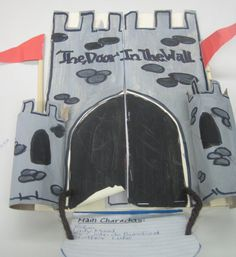 Castle Lapbook; Middle Ages lapbook inspired by the novel The Door in the Wall