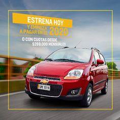 Chevrolet Promociones - Estrena hoy Spark GT Activ