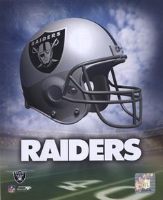 Oakland Raiders Helmet Logo #football #NFL #shopforart
