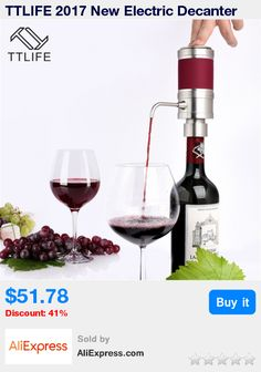 TTLIFE 2017 New Electric Decanter Wine Pourer Wine Decanter Homebrew Pump Style Cider Appliance Wine Aerator Wine Accessories * Pub Date: 15:38 Sep 15 2017
