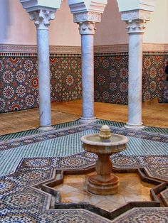 Fountain Mosaic-Meknes-Morocco-Africa | A fountain and mosai… | Flickr