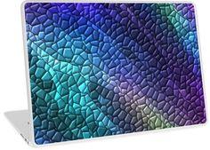 Colorful Dragon Skin Mosaic Tiles   Design available for PC Laptop, MacBook Air, MacBook Pro, & MacBook Retina