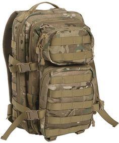 Mil-Tec Rucksack US Assault Pack, klein, Multitarn / mehr Infos auf: www.Guntia-Militaria-Shop.de