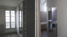 Paroi de douche fixe 90 cm retour 80 cm noir zenne - Verriere interieure castorama ...