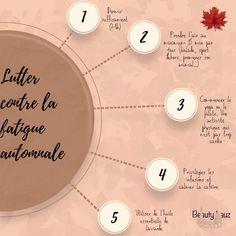 Lutter contre la fatigue de l'automne et la fatigue saisonnière. Quelques conseils et astuces Lifestyle, Tips