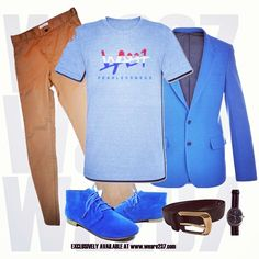 """Lookbook wa237 NETHERLANDS style. """"Blue day"""" inspiration for men. Visit our shop and choose your Tshirt www.weare237.com #fashion #swag #style #stylish #TagsForLikes #me #swagger #cute #photooftheday #jacket #hair #pants #shirt #instagood #handsome #cool #polo #swagg #guy #boy #boys #man #model #tshirt #shoes #sneakers #styles #jeans #wa237 #fearlessness"""